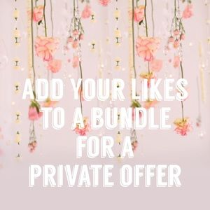Other - Add items you like to a bundle for a private offer